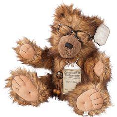 Suki Teddy Bear Harvey - Silver Tag Bear - Collection 3