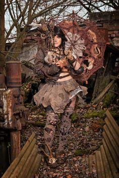 "Wasteland Warriors Charakter ""Baller – Ina"" | Mia Shinda"