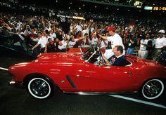 Mark McGwire's 1962 Red Corvette