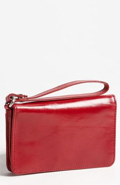 Hobo 'Ally Vintage' Leather Wristlet | Nordstrom
