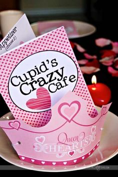 Free downloads for a fun and memorable family V-day dinner