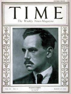 TIME Cover - Vol. 3 Nº 11: Eugene O'Neill | Mar. 17, 1924                  http://en.wikipedia.org/wiki/Eugene_O%27Neill
