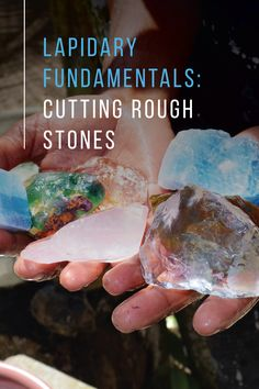 Stone Crafts, Rock Crafts, Minerals And Gemstones, Rocks And Minerals, How To Polish Rocks, Rock Identification, Rock Tumbling, Rock Hunting, Stones And Crystals