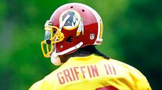 Robert Griffin III is making history with the use of Roman numerals on his jersey nameplate.
