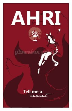 Ahri League of Legends Print by pharafax on Etsy, $16.00