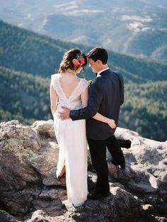Mountaintop Elopement: http://www.stylemepretty.com/2014/09/17/10-real-weddings-planned-on-a-budget/