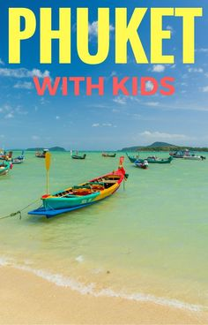 Complete guide to the top things to do in Phuket with kids including where to stay in Phuket with kids, when to visit, how to get around and other things you need to know for the perfect family vacation