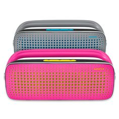 Get explosive sound wherever you go with this wireless HMDX Blast Boombox. It connects in a snap via Bluetooth so you can hear music from your smartphone, tablet or notebooks. The rechargeable battery lasts up to 6 hours. Boombox, Bedding Shop, Dorm Decorations, College Life, Cool Gadgets, Xmas Gifts, Fun Crafts, Bluetooth, Best Gifts