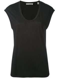 VINCE Distressed Muscle Tank. #vince #cloth #tank