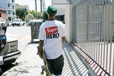 http://chicerman.com  sickstreetwear:  Supreme x Anti Hero  Follow for the best of street fashion  #summerlook