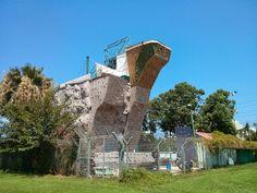 Mur d'escalade du Park Hayarkon