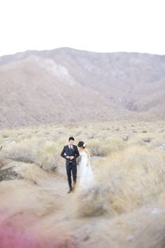 Modern Palm Springs Wedding from Birds of a Feather