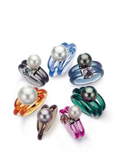 rainbow of #rings by #Gellner
