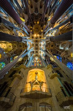 Kaleidoscopic Photos of Gaudí's La Sagrada Família