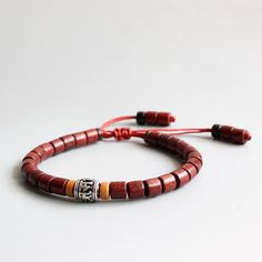 Cheap bracelet unisex, Buy Quality wooden mala directly from China wood mala beads Suppliers: Wholesale Tibetan Buddhist Handmade White Copper Mantra Sign Charm Natural Sanders Wood Mala Beads Bracelet Unisex Chrismas Gift Leather Charm Bracelets, Wood Bracelet, Bangle Bracelets, Bracelets Assortis Pour Couple, Matching Couple Bracelets, Metal Beads, Wooden Beads, Tibetan Mantra, Tibetan Buddhism