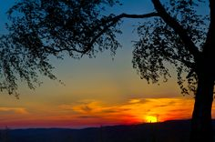 Over  Hills Sunset by marrciano.deviantart.com on @deviantART