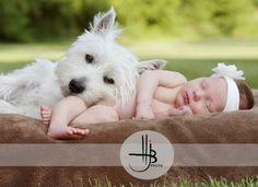 Pup and newborn