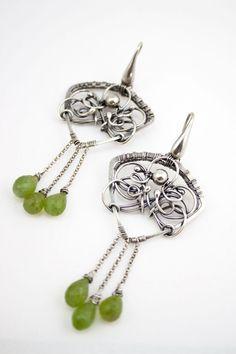 #wirewrapped #metal #jewellery #inspiration