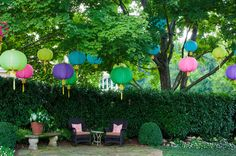 for teenage girls birthday party - mediterranean patio by Finch Photo