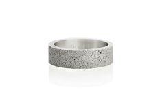 Concrete ring Gravelli Simple in grey variant. Concrete Ring, Fashion Accessories, Minimalist, Wedding Rings, Stainless Steel, Engagement Rings, Jewels, Simple, Earrings