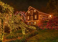 One million holiday lights to illuminate Peddler's Village this holiday season.