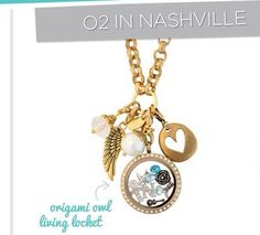 origami owl, gold locket, locket, custom, tennessee, nashville, guitar, music, gems, heart, wing, jewel, jewelry, necklace, gold chain, gift  ORDER AT:  susanb.origamiowl.com by clicking on the picture!