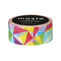 Geometric Pattern Washi Tape by Masté Masking Tape by foxandstar