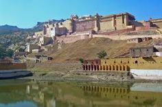 Amazing Amber fort of Rajasthan...