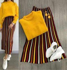 Ideas For Skirt Hijab Casual Sweaters – Hijab Fashion Hijab Casual, Hijab Outfit, Hijab Fashion Casual, Modest Outfits, Skirt Outfits, Chic Outfits, Trendy Outfits, Fashion Outfits, Womens Fashion