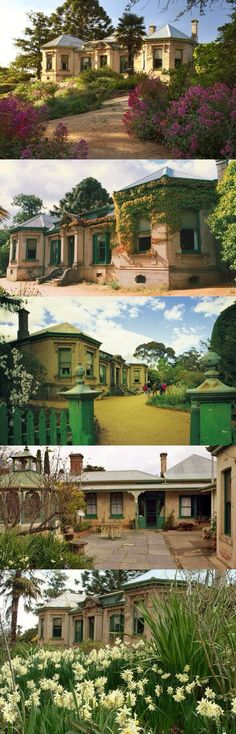 Buda is an authentic house and garden surviving from the gold rush era in Castlemaine, Victoria.