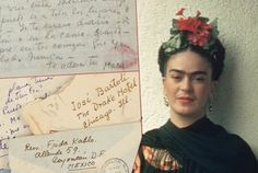 New York Auction of 25 letters between Frida Kahlo and her Spanish lover