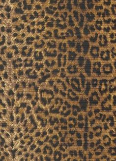 "Cheetah Earth.  100% cotton washed bark cloth. Animal skin print. Perfect for upholstery, drapery, pillows, slipcovers. 54"" wide."