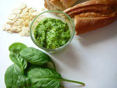 Delicious blog: Špenátové pesto s ricottou