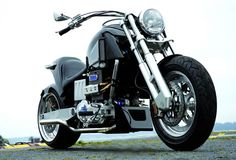 Neander Turbo Diesel Motorcycle is Introduced
