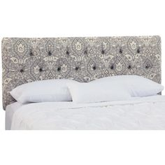 Luxury displayed at its best, this headboard will add instant panache to your bedroom décor. Featured in fashionable upholstery, this headboard boasts an...$350.95 Joss and Main