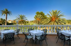 The Golf Club, terraza - terrace