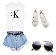 """""""Untitled #20"""" by carolina-irles on Polyvore featuring Calvin Klein and adidas"""