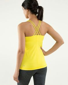Lululemon Free To Be Tank ~ Sizzle ~