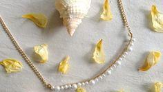 Anthropologie Pearlene necklace DIY