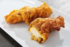 Chicken Pakora with Mint Chutney