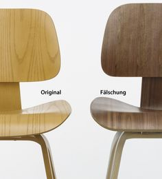 Charles and ray eames plywood group dcw i d organic for Eames chair plagiat