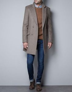 Coat With Gold Button -