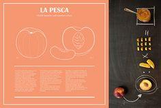 La Pesca by Herbarium Taste, via Behance