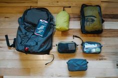 """Jeremiah's Around The World Packing List   TOM BIHN. """"One bagging"""" - it's doable!"""