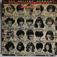 The Rolling Stones:  Some Girls (Rock Lp)  Rolling Stones #39108 - 1978  #BritishInvasion