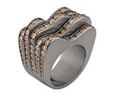 antonio bernardo Wooden Jewelry, Gold Jewelry, Jewelry Accessories, Jewellery, Antonio Bernardo, Engagement Ring Settings, Engagement Rings, Rings Cool, Ring Earrings