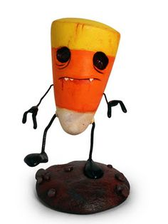 candy corn zombie, because really what else is candy corn good for