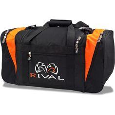 Rival RGB20 Boxing Duffle Gym Bag - Black / Orange