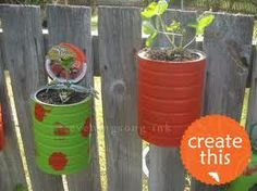 recycled plant containers - Google Search