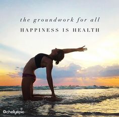 The groundwork for all happiness is health. @chellyepic